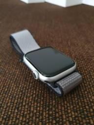 Apple watch série 5 44mm novo Prata com Garantia