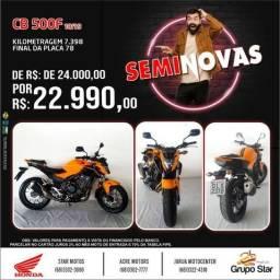 Motos Semi Novos - 2019