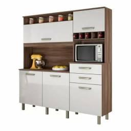 Cozinha nesher smart 5 portas e 2 gavetas E536