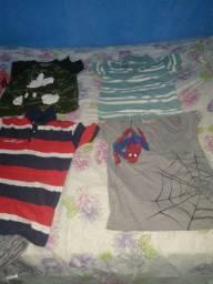 Camisas aparti de 10 reais