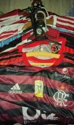 Queima de estoque! Camisas do Flamengo