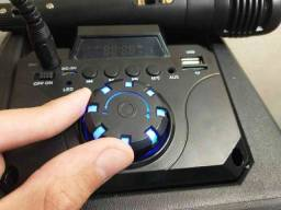 Acabou de achar!! Caixa de Som Super Potente KTS 1054 Wireless
