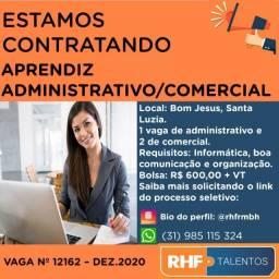 Aprendiz Administrativo e Comercial