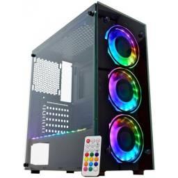 Gabinete Gamer Kmex Atlantis IV Painel Rgb Rainbow Top de linha comprar usado  Curitiba