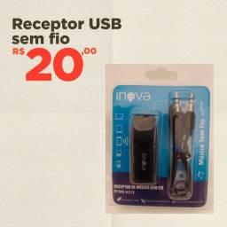 Receptor USB sem Fio