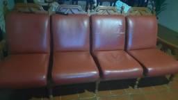 Carpina- vendo jogo de sofa madeira