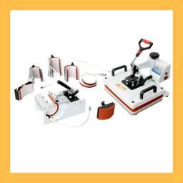 Máquina para sublimação 8×1 + materiais