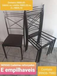 CADEIRAS NOVAS E REFORÇADAS EMPILHAVEIS  ENTREGA SETE LAGOAS, BH E CIDADES VIZINHAS