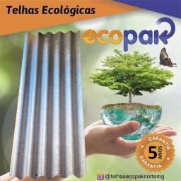 Título do anúncio: TELHAS ECOLÓGICAS ECOPAK