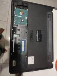 Vendo  notebook sem  tela para usar como  PC