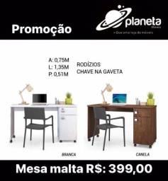 Mesa/Escrivaninha Malta Promoção