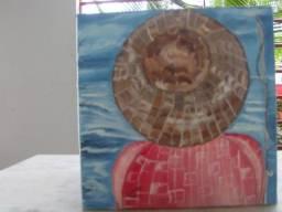 Quadro - Painel 20 x 20 O Pescador - Peça Única! R$ 45,00