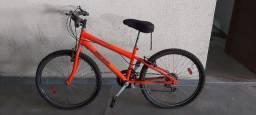 Título do anúncio: Oportunidade!! Bicicleta Mormaii New Wave laranja