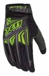 Outros Luva X11 Nitro 3 com Touch Motociclista Ciclista Unissex Conforto e Segurança <br>