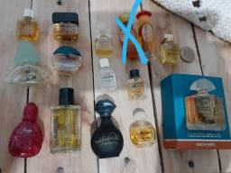 Coleção mini perfumes diversos