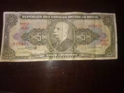 Título do anúncio: Notas Antigas Brasileiras