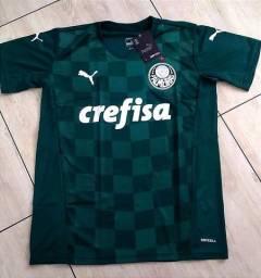 Título do anúncio: Camisas Palmeiras Puma 21/22 Novos Modelos Entrego