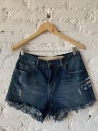 Título do anúncio: Short jeans escuro Oh Boy! 38