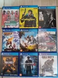 Jogos mídia física PS4 baratinhos em Caruaru