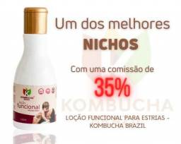 Loção Funcional Para Estrias - Kombucha Brazil