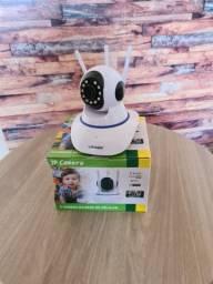 Título do anúncio: Câmera de segurança ip com 3 antenas 360º - Nova