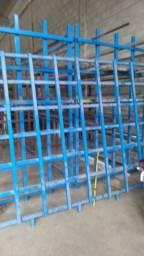 estaleiro , estante metalica