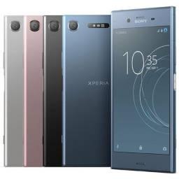 R$ 1.799 Celular Sony XZ1 modelo G8143 4gb 64 gb 19 mp 4k 1 chip 3 cores lacrado
