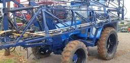 Pulverizador montado Ford 6610 4x4 2000 LT com GPS Arag e controle de vazão