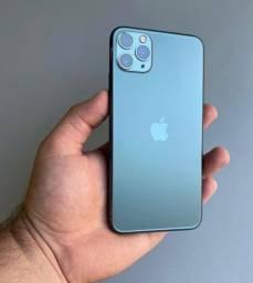 Título do anúncio: iPhone 11 Pro Max 256gb Verde Militar