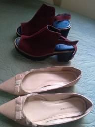 Vende-se sapatos seminovos de marca