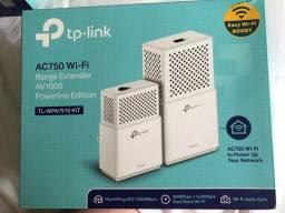 Título do anúncio: Repetidor Powerline TP-Link TL-WPA7510 Kit