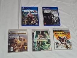 Jogos de Playstation 3 e Playstation 4 A partir de 20,00