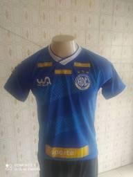 Camisa azul confiança