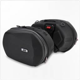 Alforje lateral Easylock Givi 3D600 + Opcional: ferragem lateral CB 1000