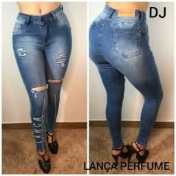 Calça jeans, short e saia
