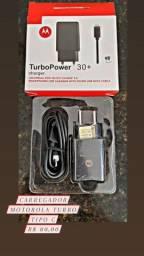 Título do anúncio: Carregador turbopower tipo C