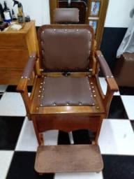 Cadeira de barbeiro vintage por ecomenda