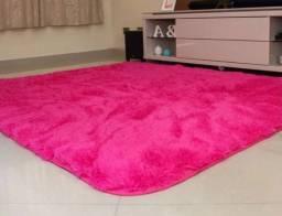 Título do anúncio: Tapete lindo rosa