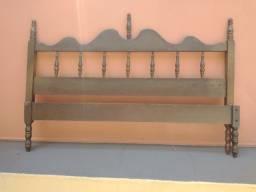 Título do anúncio: Vendo cama de casal 1,28 larg. usada