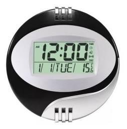 Relógio Digital Mesa E Parede Data Hora Temperatura Le-8108