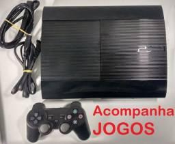 Play 3, Ps3, Playstation 3, bem conservado.