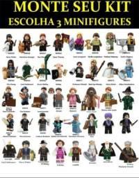 Uma Minifigure de montar do filme Harry Potter - 20 personagens disponíveis