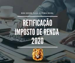 Retificação de Imposto de Renda 2020