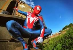 Título do anúncio: Alugo fantasia (cosplay) homem aranha