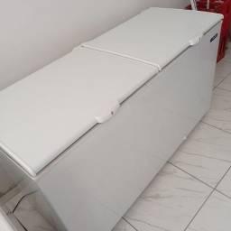 Título do anúncio: Freezer novinho metal frio