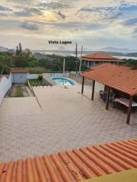 Cordeirinho-Maricá, Imóvel C/3 Qtos, Mirante C/Vista da Lagoa, Área Gourmet Completa.
