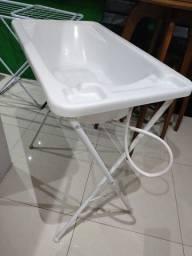 Título do anúncio: Banheira plástica Galzerano com suporte
