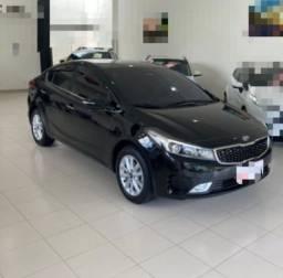 Venda Kia Cerato 1.6 preto semi novo Auto. flex.