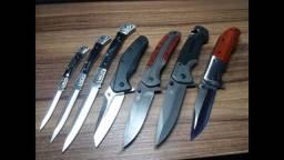 Canivetes vários modelos e valores.