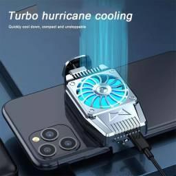 Portátil Fan Cooler Jogo Celular Cooler iPhone<br><br>